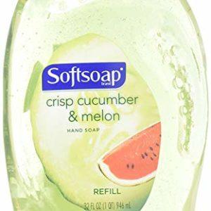 Softsoap Crisp Cucumber & Melon Liquid Hand Soap Refill 32 Ounce