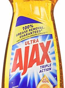 Ajax Triple Action Dish Liquid Orange, 12.6oz