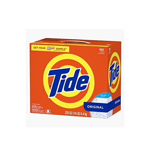 Ultra Tide HE Powder Laundry Detergent, Original - 225 oz. - 160 Loads Ultra Tide HE Powder Laundry
