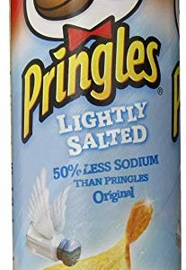 Pringles Lightly Salted Chips, 5.68 Ounce