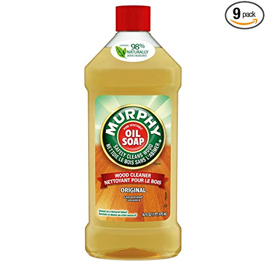 Murphy's Oil Soap Original Wood Cleaner - 16 Fluid Ounce (9 Count)
