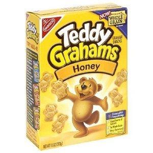 Nabisco, Honey Maid/Teddy Grahams, Honey, 10oz Box (Pack of 4)