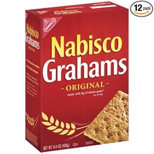 Nabisco Original Grahams Crackers, 14.4 Ounce, (Pack of 12)
