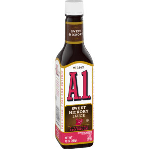 A1 Steak Sauce with Sweet Hickory Bulls-Eye Barbecue Sauce 10 oz
