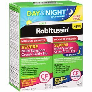 Robitussin CF Max Severe Day/Night Cough Medication, 8 oz