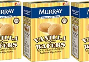 Murray Cookies Vanilla Wafers, 12 oz, Pack Of 3