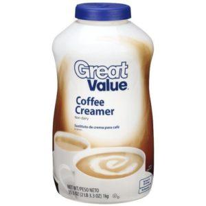 Great Value: Non-Dairy Coffee Creamer, 35.3 Oz