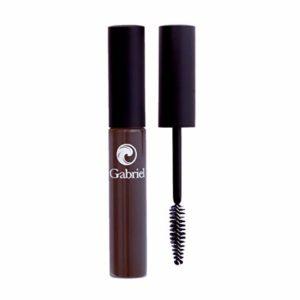 Gabriel Cosmetics Mascara (Black Brown), Natural, Paraben Free, Vegan,Gluten free,Cruelty free,No GMO,Voluminous full lashes,Non flaky,Water resistant