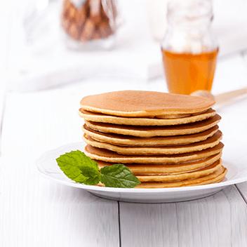 Pancakes, Waffles & Syrup