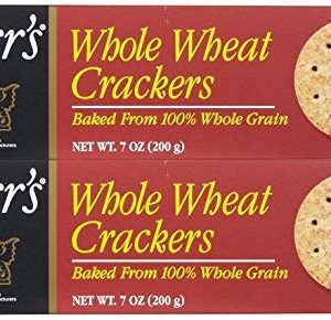 Carr's Whole Wheat Crackers-7 Oz-2 Pack