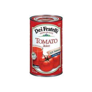 Dei Fratelli Tomato Juice 46FZ (Pack of 12)