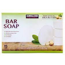 5 Wholesale Lots Kirkland Signature Body Soap 15 Bars per Pack, 75 Bars Total