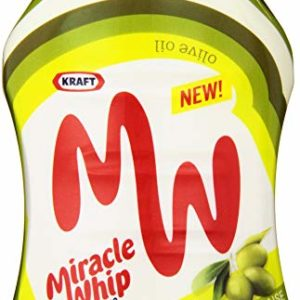 Miracle Whip Dressing with Olive Oil (12 oz Bottle)