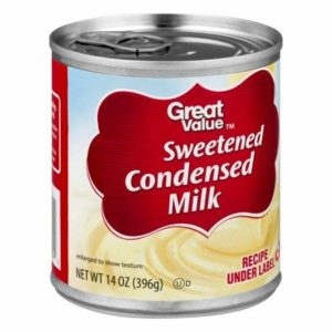 Great Value Sweetened Condensed Milk, 14 oz (10 Servings per Container) - Pack of 4