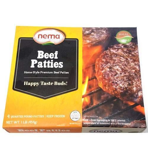 Nema Beef Patties - 4pc