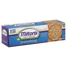 Milton's Craft Bakers Multi-Grain Crackers Everything 8.3 oz