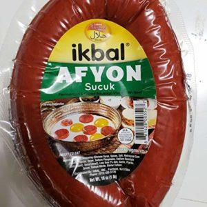 Ikbal Afyon Style Halal Sujuk Soudjouk Sucuk