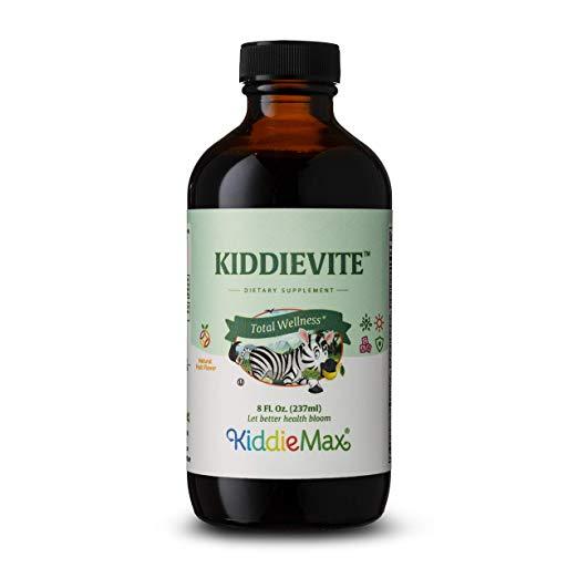 Maxi Health Kiddievite Children Multi Vitamin W/Minerals Liquid Natural Fruit Punch Flavor - 8 Fl.