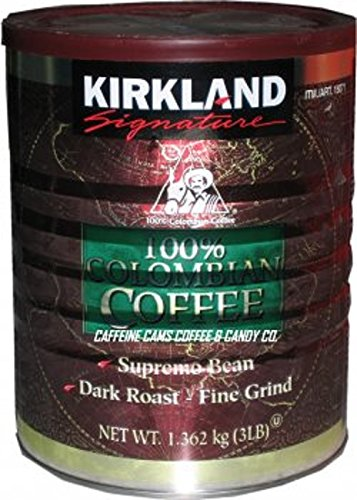 Kirkland Signature 100% Colombian Coffee, 3 LB