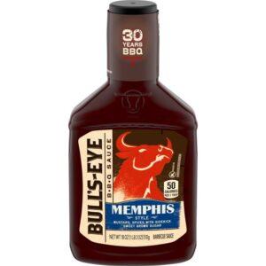 Bull's-Eye, Memphis Style, Regional Barbecue Sauce, 18oz Bottle (Pack of 2)