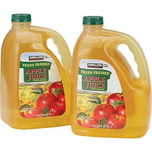 Kirkland Signature Fresh Pressed Apple Juice Jugs (Not from Concentrate) - 2 GAL