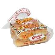 Martin's Potato Rolls 8 Sandwich Rolls Pack of 4