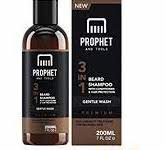 New Premium 3-in-1 Beard Shampoo with Conditioner & Facial Hair Protection Treatment for Men Grooming! Gentle Wash Leaves Your Beards Clean, Easy to Detangle, Ultra Soft and Shiny | Prophet and Tools