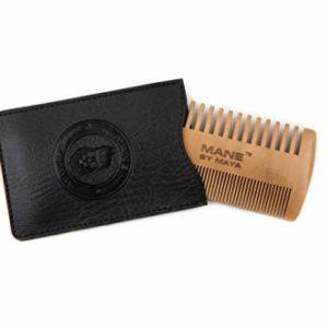 MANE by MAYA Beard Wooden Comb