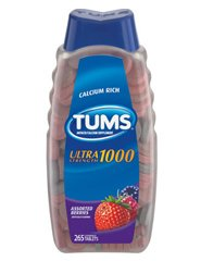 Tums Ultra Strength (Assorted Berries) 265 Chewable Tablets (Original Version)