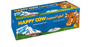 Happy Cow Halal Austrian Processed Cheese 2 Kg