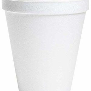 Wincup C12A Foam Cups, 12 oz, White (25 Sleeves of 40 Cups)