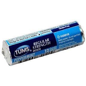 Tums Regular Strength 500 - Peppermint (Box of 12)