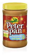 Peter Pan Peanut Butter Whipped Creamy - 13 oz (6 pack)