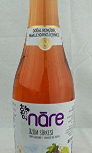 Doganay Nare Salad Dressing Series (Grape Vinegar 500 mL / 16.9 Fl Oz )