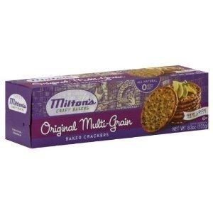 Milton's, Craft Bakers, Original Multi Grain Crackers, 8.3oz Box (Pack of 4) by Milton's Craft Bakers