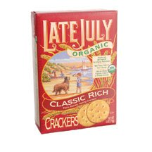 Late July Snacks, Organic Classic Rich Crackers, 6 Oz