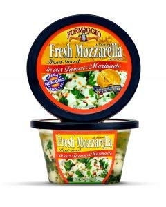 Formaggio Fresh Mozzarella Marinated Cilegne Salad non-gmo oil Halal 2.5lb