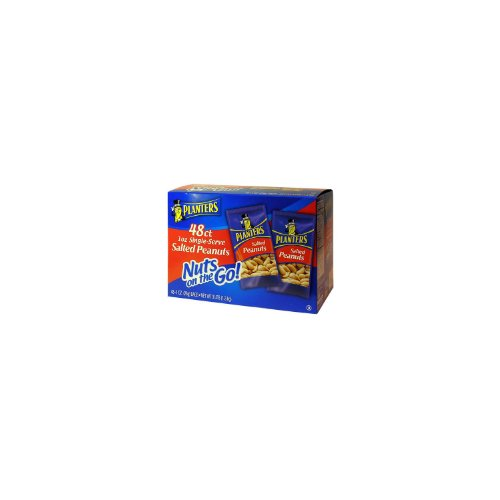 Planters Salted Peanuts - 1 oz. (48ct.) x2 AS