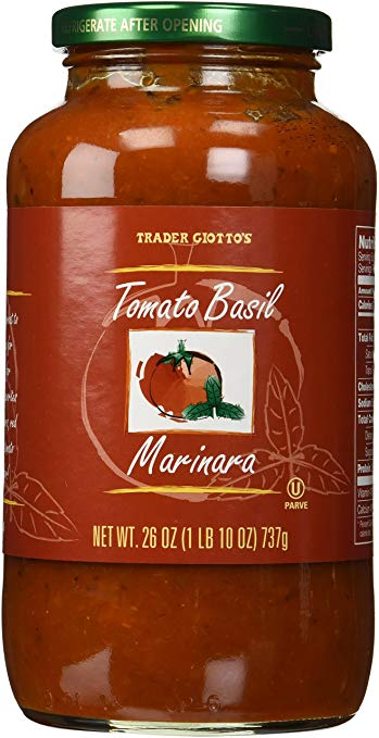 """Trader Joe's """"Trader Giotto's"""" Tomato Basil Marinara Sauce"""