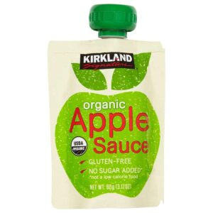 Kirkland Signature Organic Apple Sauce, 76.08 Ounce