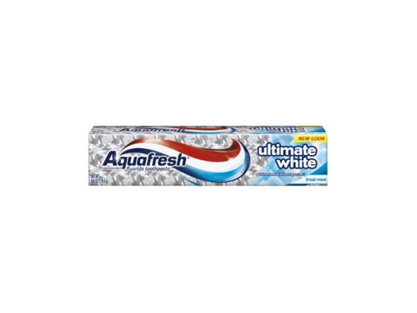 Aqua Fresh Ult White Size 6z Aquafresh Ultimate White Toothpaste