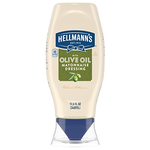 Hellmann's Mayonnaise Dressing, with Olive Oil Squeeze, 11.5 oz