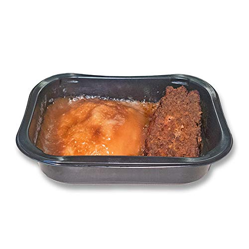 Halal Homestyle Salisbury Steak with Mashed Potatoes and Gravy - Frozen Meal - 6oz each
