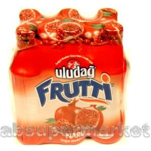 Uludag Frutti Natural Mineral Water w/ Pomegranate 6packs