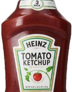 Heinz Ketchup, Tomato, 44 oz (3Count)