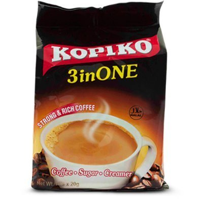 Kopiko 3 in 1 Instant Coffee - (1 Pack) 30 Sachets - HALAL