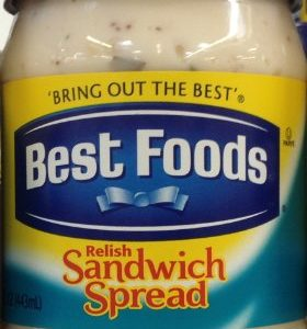 Best Foods, Relish Sandwich Spread, 15oz Plastic Jar (Pack of 3)