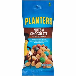 Planters Chocolate Trail Mix Nuts (2 oz Bags, Pack of 72)