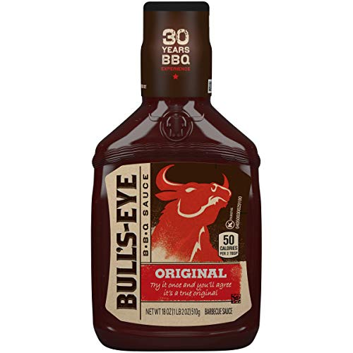 Bull's Eye Original Barbecue Sauce, 18 Ounce Bottle