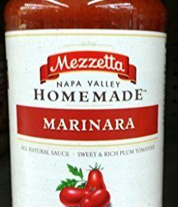 Mezzetta Napa Valley Homemade Marinara Sauce 24.5 Oz (Pack of 2)